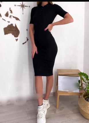 Плаття сукня футболка поло zara