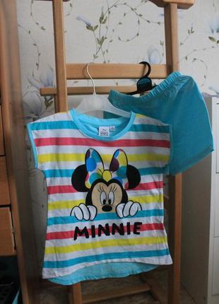 Костюм minnie mouse 4 года (104 см)