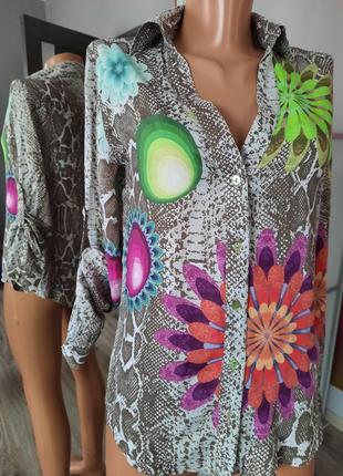 Рубашка desigual, сорочка,блузка