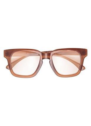 Очки с защитой uv 400 с прозрачными линзами h&m2 фото