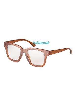 Очки с защитой uv 400 с прозрачными линзами h&m