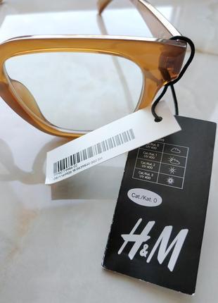 Очки с защитой uv 400 с прозрачными линзами h&m5 фото