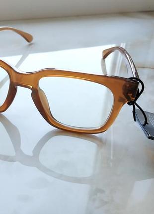 Очки с защитой uv 400 с прозрачными линзами h&m3 фото