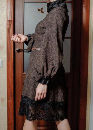 Шикарное платье в стиле ретро