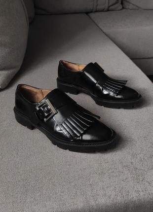 Туфлі лофери zara