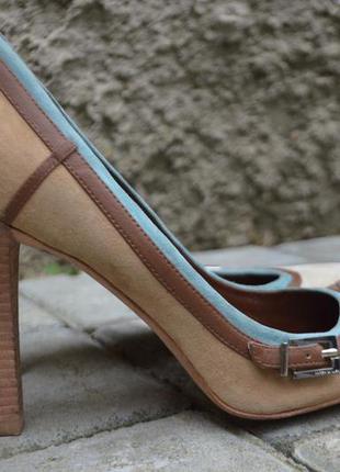 Шикарные туфли karen millen оригинал везде натуральная кожа