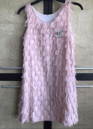 Платье с логотипом