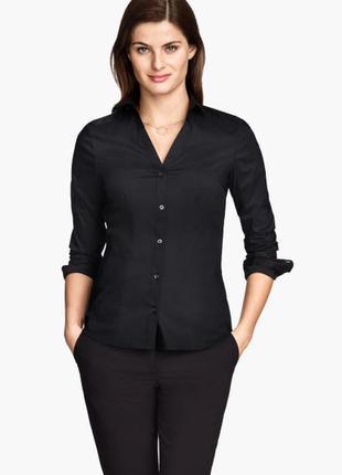 Рубашка приталена h&m