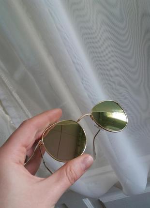Дзеркальні сонячні окуляри / солнечные очки