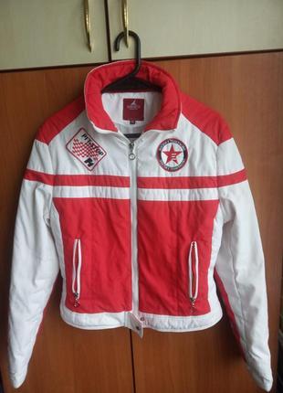 Куртка пилота  курточка спортивная формула-1,  46 разм