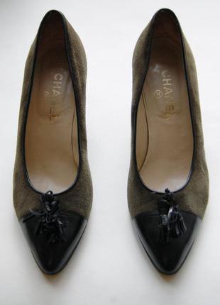 Винтажные аутентичные туфли chanel