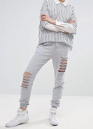 Новые кэжуал брюки asos (m-l)