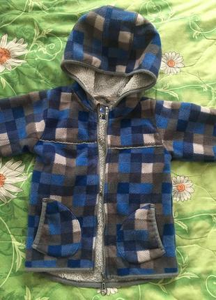 Флисовая кофта куртка cool club
