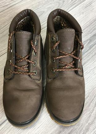 Демисезонные  ботинки timberland размер 39 waterproof