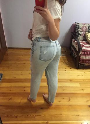 Идиальные mom-jeans