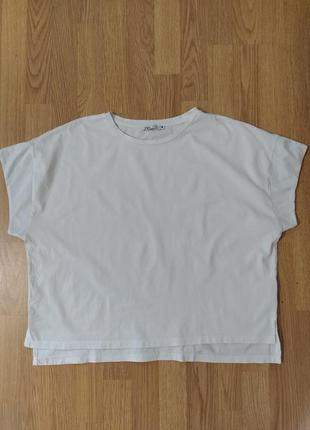 Базовая белая футболка zara 🌺