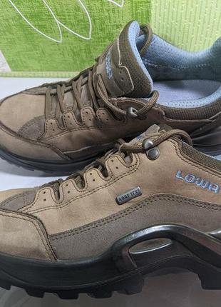 Lowa renegade 2 - кожаные трекинговые непромокаемые кроссовки