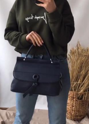 Практичная прямоугольная сумка