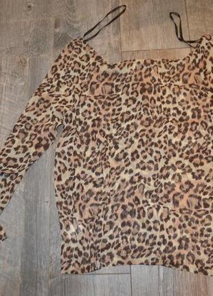 Тигровая блузка (м/л)