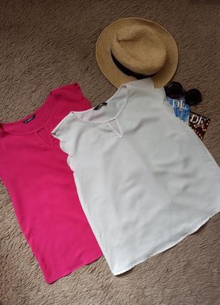 Красивый топ с ажурными рукавами/майка/блузка/блуза