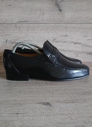 Туфли лоферы пьер карден pierre cardin 41р 26 см кожа2 фото
