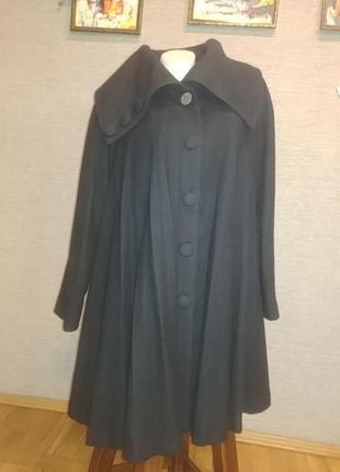 Шикарное укороченное пальто, полупальто, жакет кашемир
