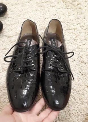 Туфли 36-37 размер на узкую ножку