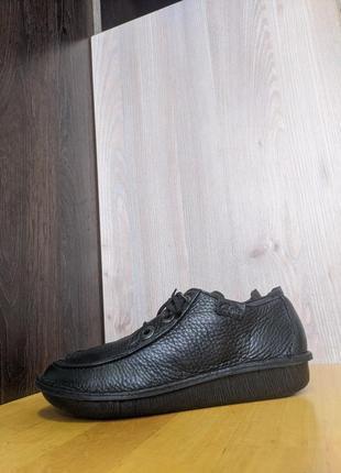 Кроссовки, туфли, мокассины кожаные clarks