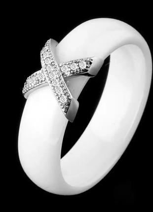 Керамика+нержавеющая сталь кольцо1 фото