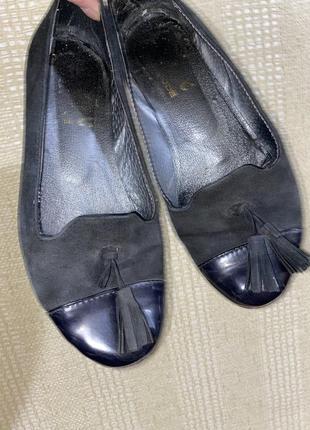 Туфли женские, балетки весенние кожа