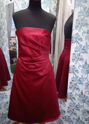Вечірнє плаття асиметрична драпіровка