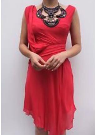 Очень яркое коктейльное платье karen millen