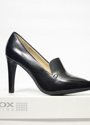 Кожаные туфли-лодочки geox respira geox италия