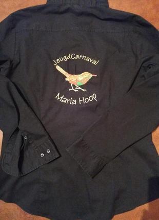 Стильная черная рубаха от h&m