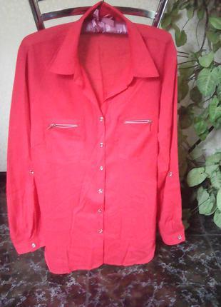Рубашка-блуза
