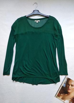 Актуальная вискозная блуза блузка кофточка zara xs-s