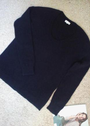 Reiss теплый, уютный шерстяной свитер 94% шерсть, 6% кашемир