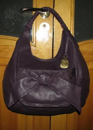 Большая сумка betty jackson кожа 100%