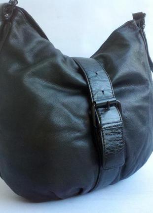 Брендовая кожаная сумка tex by max azria