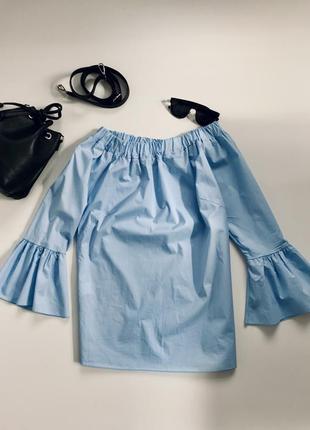 Свободная блуза на резинке