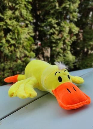Декоративная подушка обнимашка утка