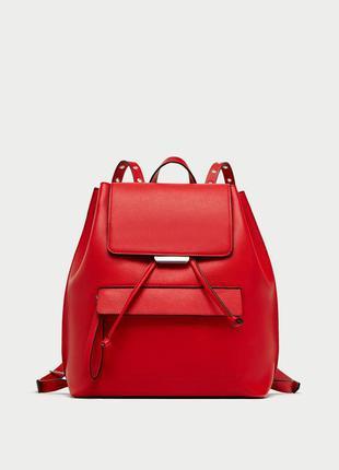 Новый базовый городской рюкзак zara