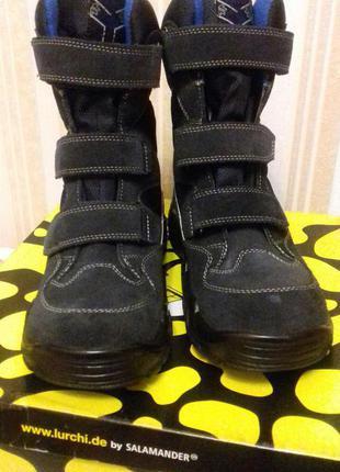 Новые ботинки lurchi salamander 38 размер на мальчика