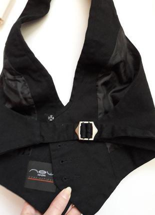 Ефектна красива базова котонова жилетка , корсет new look4 фото