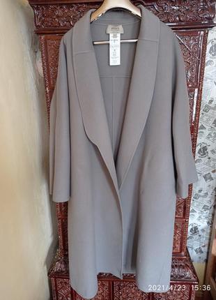 Пальто armani 100% кашемір