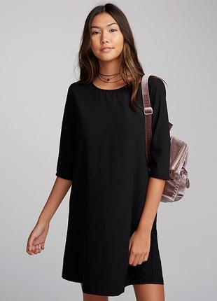 Базовое черное платье 52-54