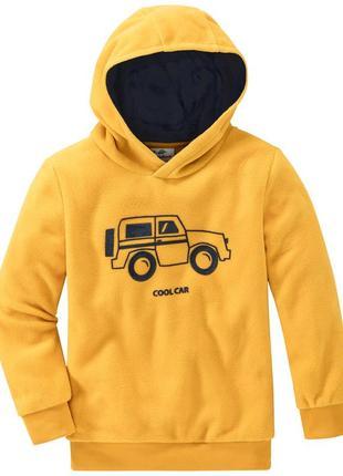 Флисовый пуловер с капюшоном от ernstings family