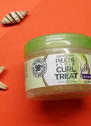 Желе для стайлінгу garnier fructis jelly