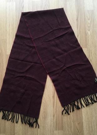 Шерстяний шарф borsalino