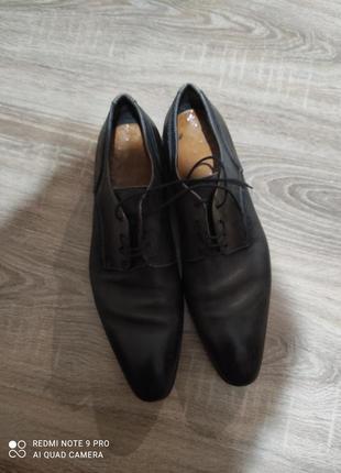 Кожанные туфли vero guoio